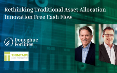 Rethinking Traditional Asset Allocation Innovation Free Cash Flow